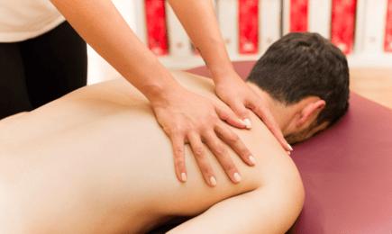Foto Rückenbehandlung